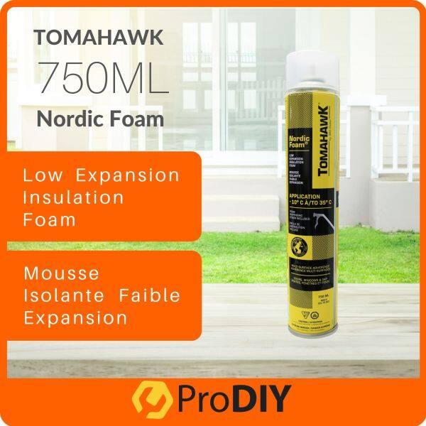 Tomahawwk 750ml Polyurethane Foam PU Nordic Foam PU Foam Door Window Gap Multiple Surface -10°C to 35°C
