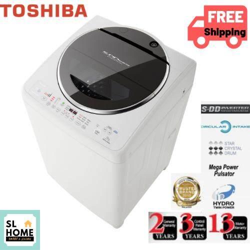 TOSHIBA AW-DC1300WM 12KG WASHING MACHINE SDD INVERTER AW-DC1300WM/ AW-DC1300/ AWDC1300WM