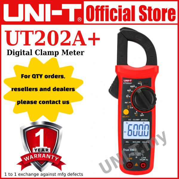 UNI-T UT202A+ Digital Clamp Meter
