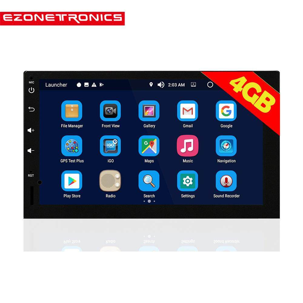 Ezonetronics Android 8.0 Octa Core Car Radio Stereo 7 Inch Capacitive Touch Screen High Definition 1024x600 Gps Navigation Bluetooth Usb Sd Player 4g Ddr3 + 32g Nand Memory Flash By Ezonetronics Store.