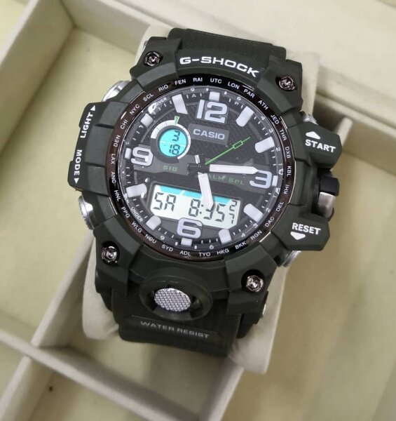 Sport_Casio_G_Shock_MudMaster For Men Dual Time Display Good Quality Rubber Strip Long Life Battery Fashion Skali Tin Gift Box + 35ml Perfume Gift Malaysia