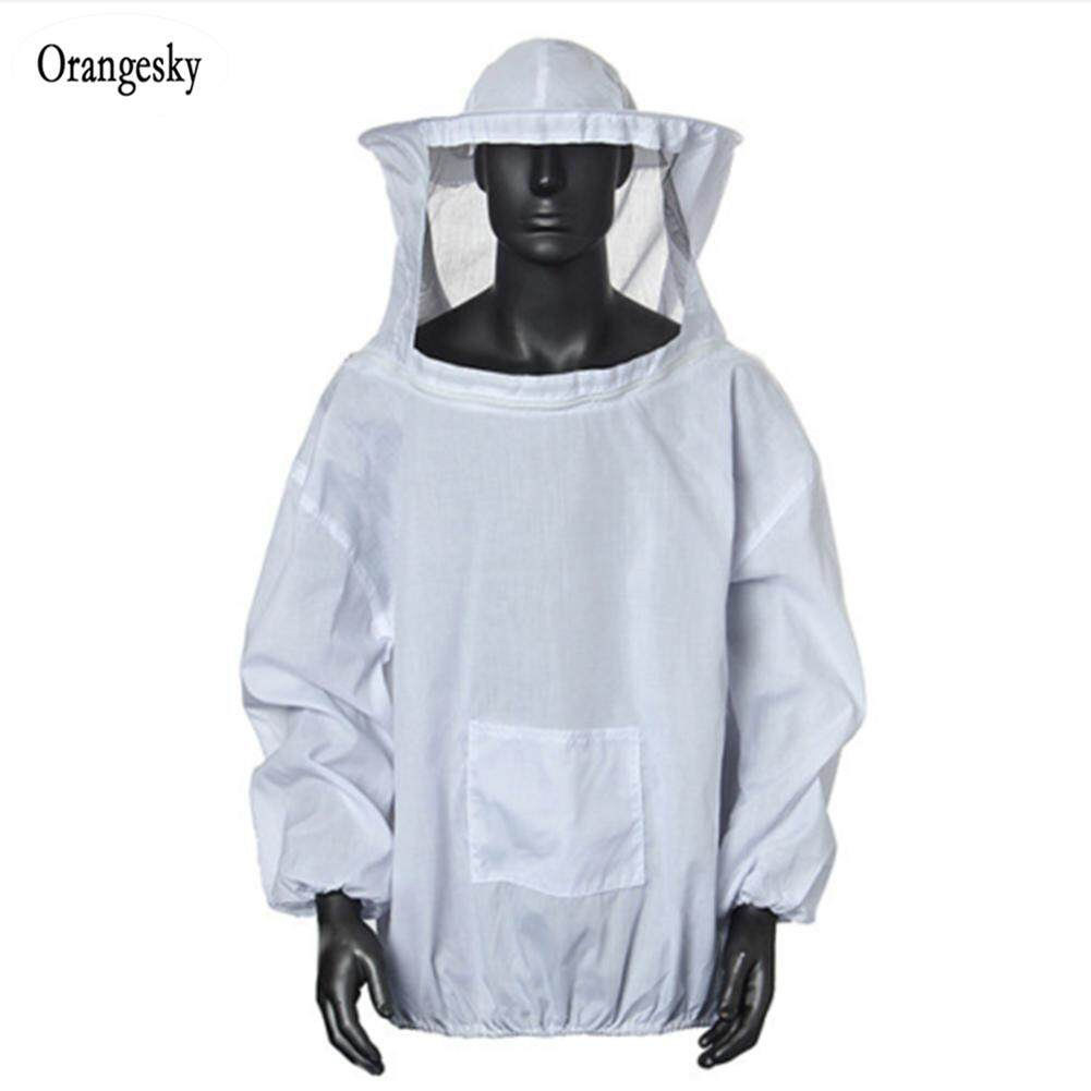 Orangesky Beekeeping Jacket Smock Protective Protector Bee Keeping Hat Sleeve Breathable Equipment By Orangesky.