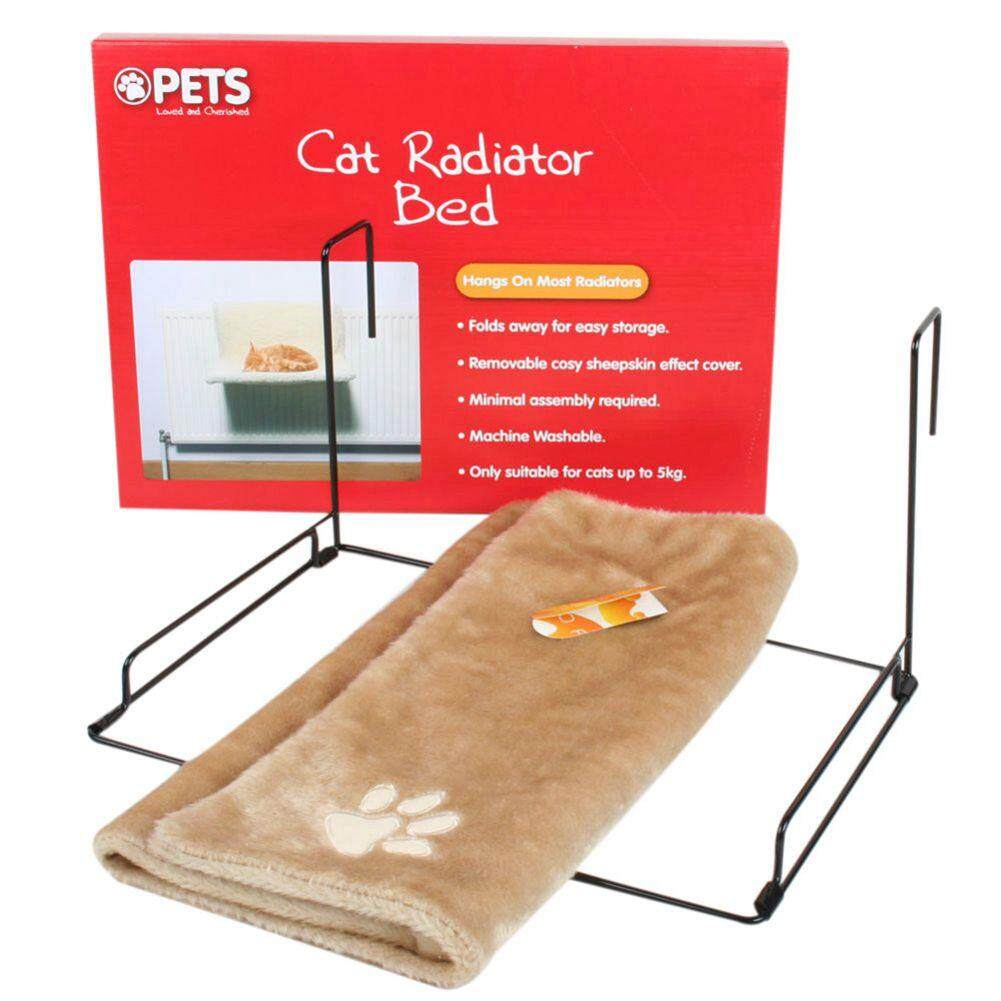Cats And Dogs Radiator Bed Warm Plush Mattress Cradle Animal Plush Puppies Pet Cats Bed With Warm Club By Rainning.