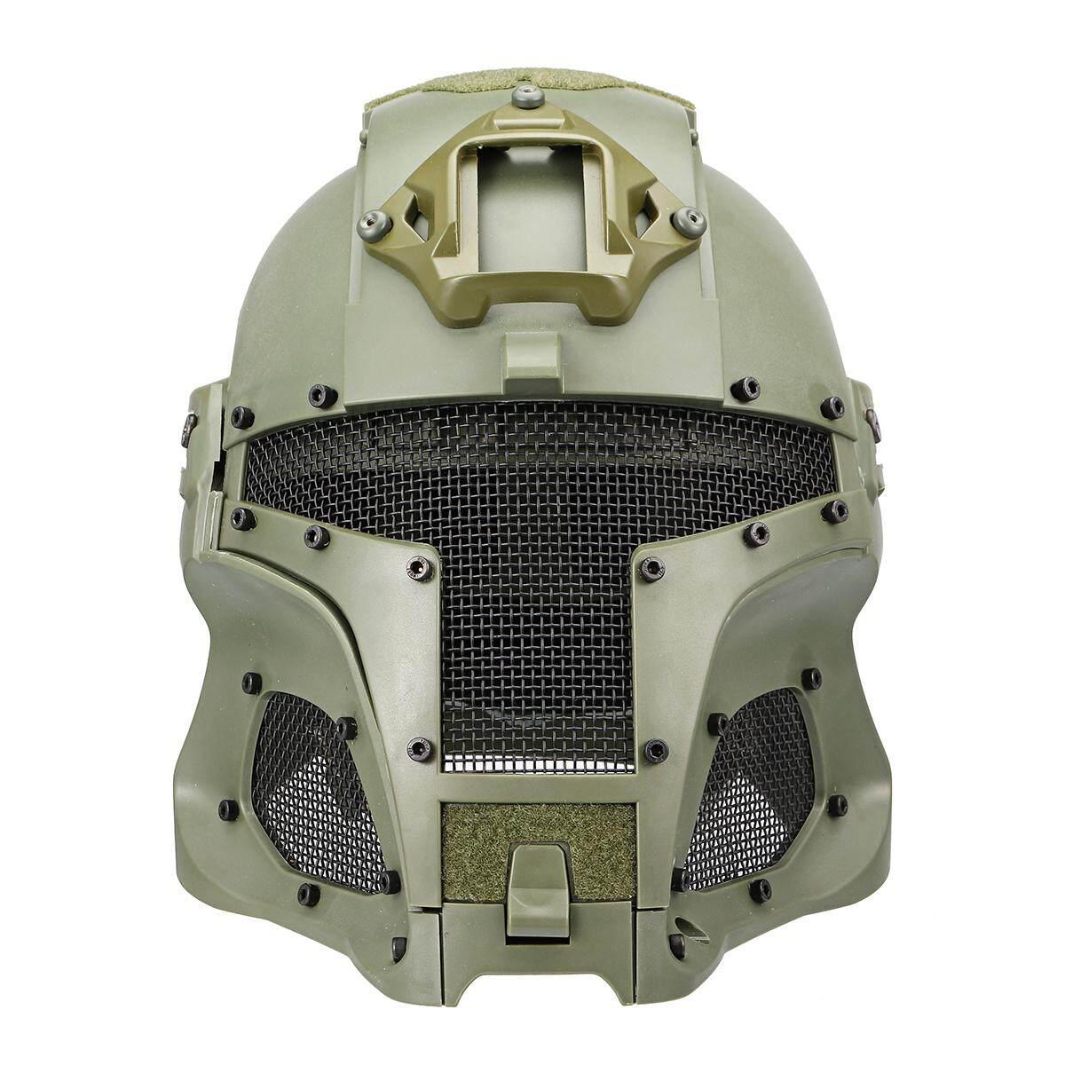 WST Mũ Bảo Hiểm Khẩu trang Chiến Thuật Bảo Vệ Airsoft Bóng Sơn CF Trò Chơi Ngoài Trời