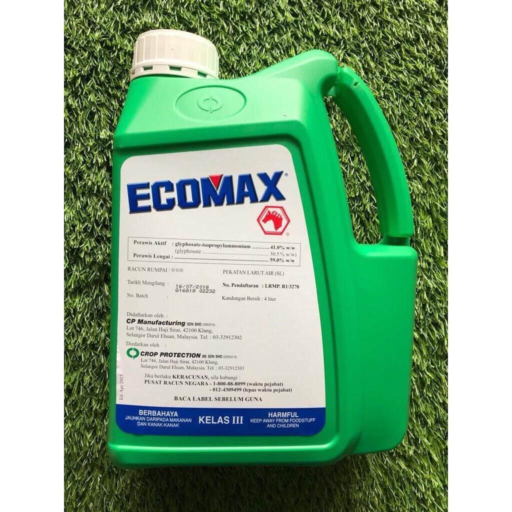 4L Ecomax Glyphosate 41% Herbicide Racun Rumput