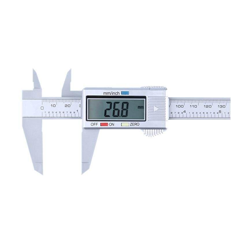 6 Inch 0-150mm Caliper Measuring Tool LCD Display Digital Vernier Caliper Measuring Instrument Plastic Vernier Caliper——(1 pcs)