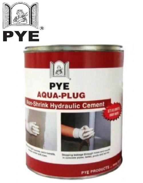 1KG PYE Aqua Plug Non Shrink Hydraulic Cement