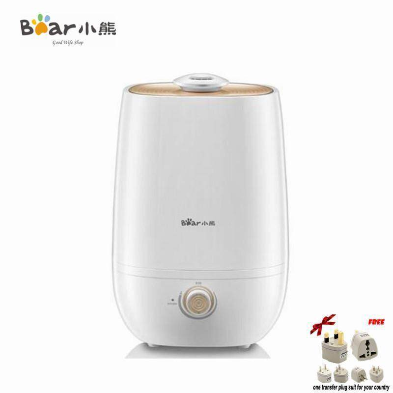Bear JSQ-A50U1 Ultrasonic Humidifier For Home Office Humidifier Ultrasonic Aroma Diffuser Large Capacity Radiation-Free Singapore