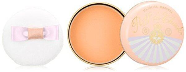 Buy MAJOLICA MAJORCA Puff de Cheek OR302 Apricot Macaron Singapore