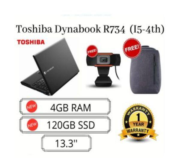 Toshiba Notebook 13.3 Inch Wide Screen [Dynabook R734] Malaysia