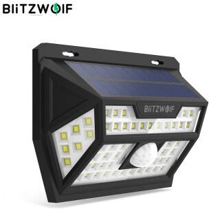 Blitzwolf BW-OLT1 Đèn Tường IP64 Điều Khiển Cảm Biến Chuyển Động PIR Thông Minh Năng Lượng Mặt Trời 62 LED, Bảo Mật Sân Vườn Ngoài Trời thumbnail