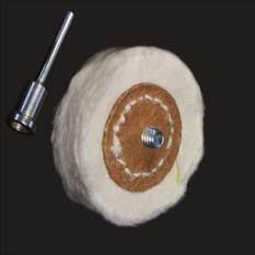 50Mm Ba Lan Vải Mài Mòn Bàn Chải Mài Mòn 3Mm Shank Thợ Kim Hoàn Đệm Đánh Bóng Đầu Mài