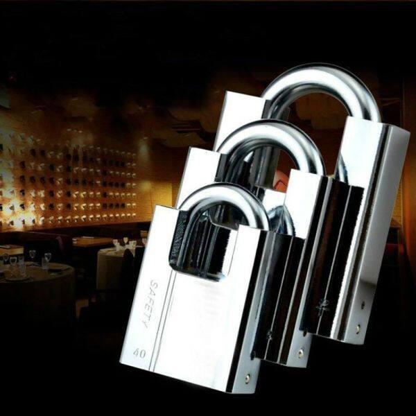 KODICE Keyed Duarable Anti-Theft Unlocked Head Window With 4 Keys Hardware Door Lock Furiniture Accessories Padlock