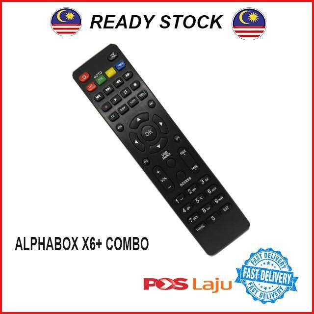 Remote Control ALPHABOX X6+ (2018)