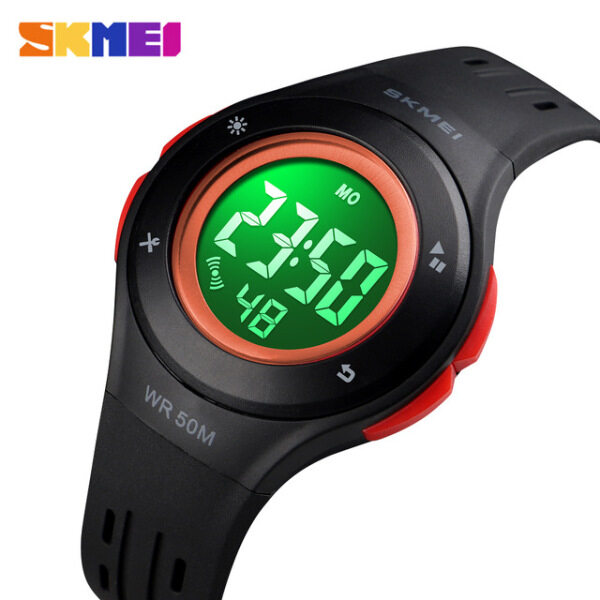 Digital electronic watch SKMEI LED sport style for children boy girl fashion children cartoon 50m waterproof watch Malaysia