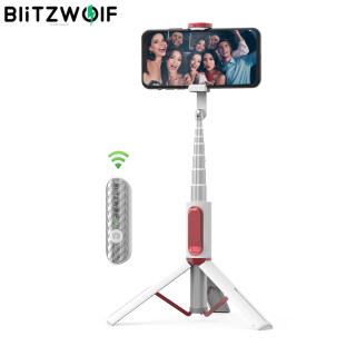 BlitzWolf Chân Máy Bluetooth Mở Rộng Được Tất Cả Trong Một, Ảnh Tự Sướng Thanh Người Giữ Điện Thoại Ánh Sáng thumbnail