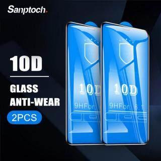 Sanptoch 2 Sản Phẩm Kính Cường Lực Bảo Vệ Toàn Màn Hình 10D Dành Cho iPhone 11 12 Pro Max Mini X Xs Max XR Màng Kính Miếng Dán Kính Bảo Vệ Cho Iphone 8 7 6 6S Plus thumbnail