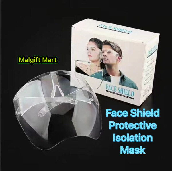 FACE SHIELD PROTECTION ISOLATION MASK