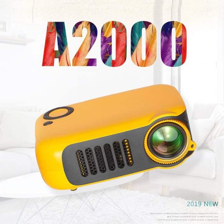 Transjee A2000 PORTABLE Home Projector Multi-function Interface MINI  Projector LED   Lazada