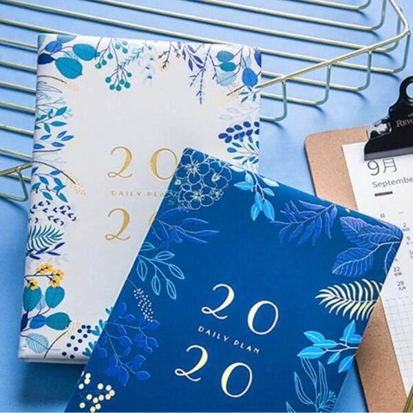 Mua Sổ Tay A5 2019-2020 Sổ Kế Hoạch Nhật Ký Hàng Tháng Hàng Tuần Nhật Ký Lịch Nghiên Cứu Cuốn Sách-Màu Xanh