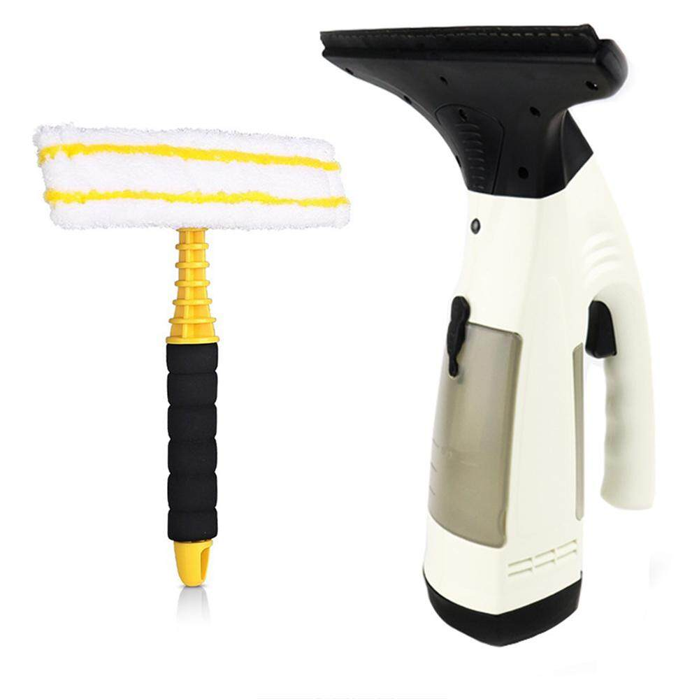 Cordless Window Galss Vacuum Cleaner Handheld Rechargeable Electrical Mirror Cleaning Machine with Powerful Suction For Car Floor Smooth Surface US Plug