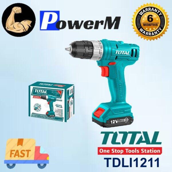 TOTAL Li-Ion Cordless Drill 12V ( TDLI1211 )