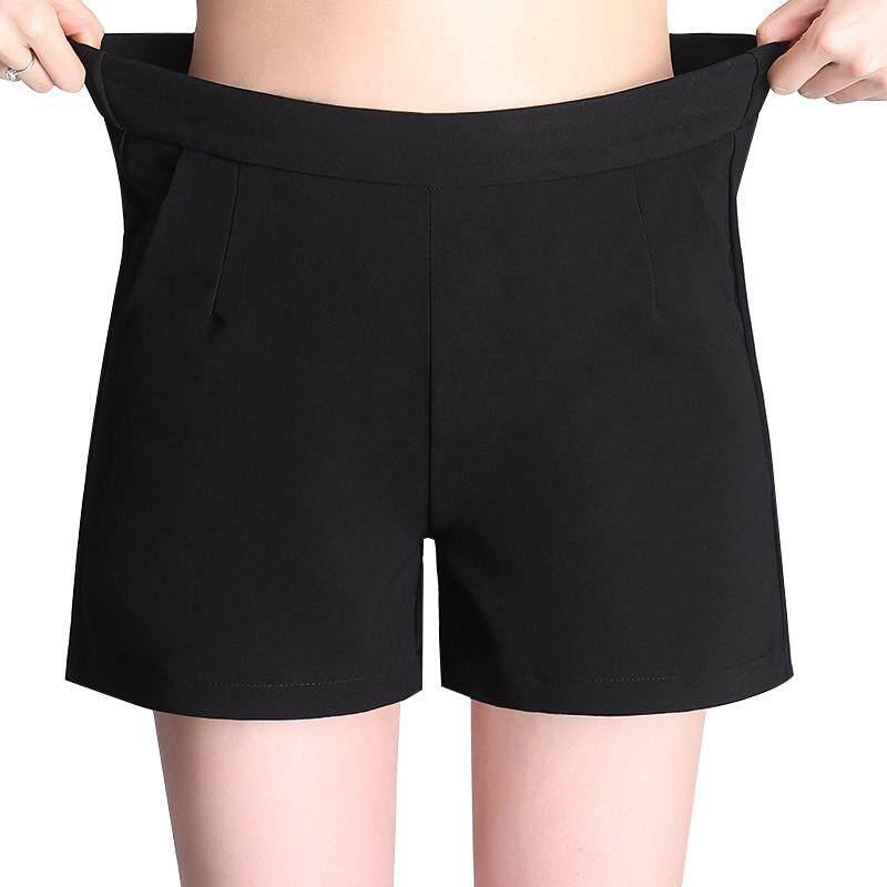 Korea Summer Woman Cotton Short Plus Size New Fashion Design Lady Casual Short Trousers
