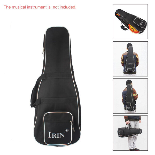 Double Zippered High Quality Backpack for Mandolin Thicken Shoulder Gig Bag Case Frabic 28  * 11  Large Size 2 Pockets Durable Washable Malaysia