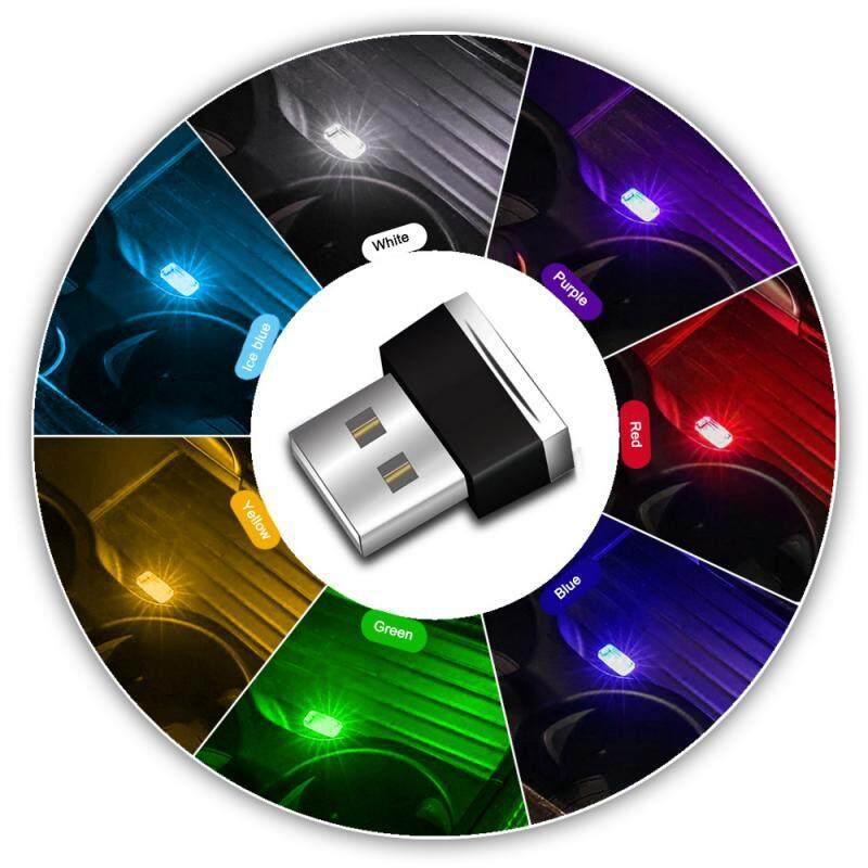 Bảng giá 2 Chiếc Đèn LED Mini USB Đèn Tạo Không Khí Đầy Màu Sắc Đèn Chiếu Sáng Khẩn Cấp Cho Xe Hơi Gia Đình PC Phong Vũ