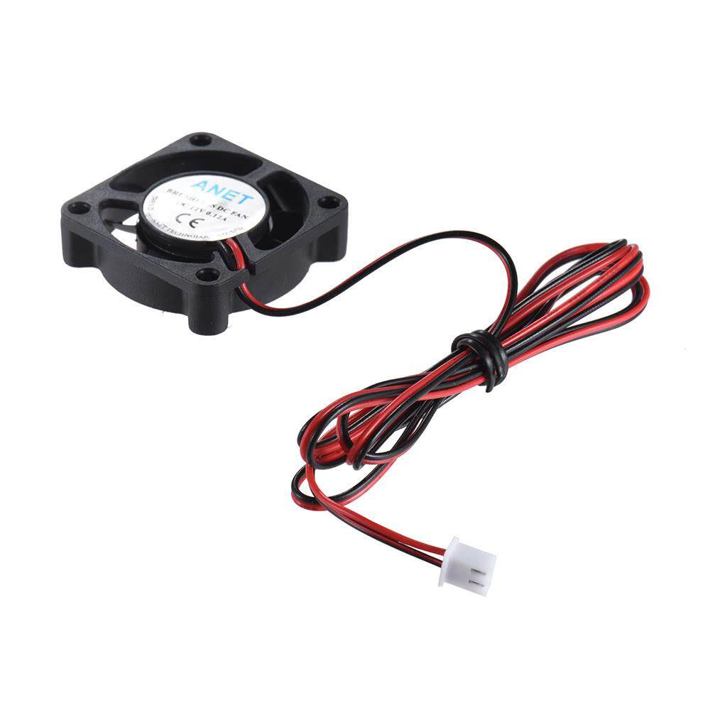 Anet 40 * 40 * 10mm Dc 12v Brushless Cooling Cooler Fan 2 Wire For Reprap Prusa I3 Diy 3d Printer By Chunzao.