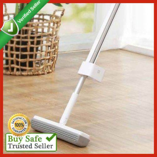 180-degree Rotating Standing Storage Space-saving Mop with Collodion Head from Xiaomi Youpin (WHITE)