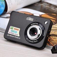 Máy quay phim cảm biến màn hình 2.7inch, độ phân giải hình ảnh 18MP, độ phân giải video 1280x720HD, 8 lần zoom kỹ thuật số, chống rung, hỗ trợ thẻ SD 32GB – INTL