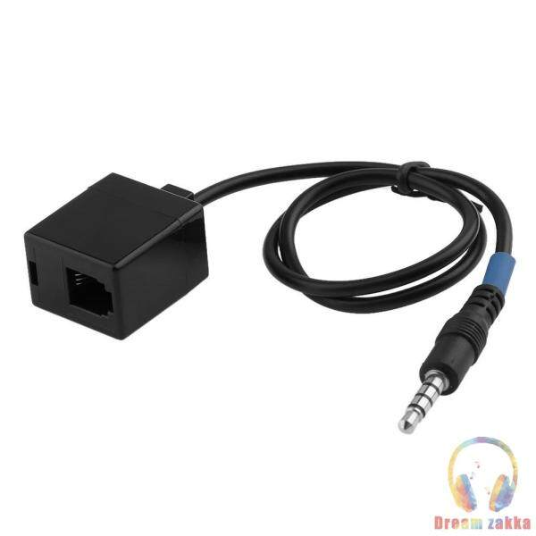 3.5mm Male to RJ9 4P4C Female Adapter Converter Cable for Cisco Telephone Singapore