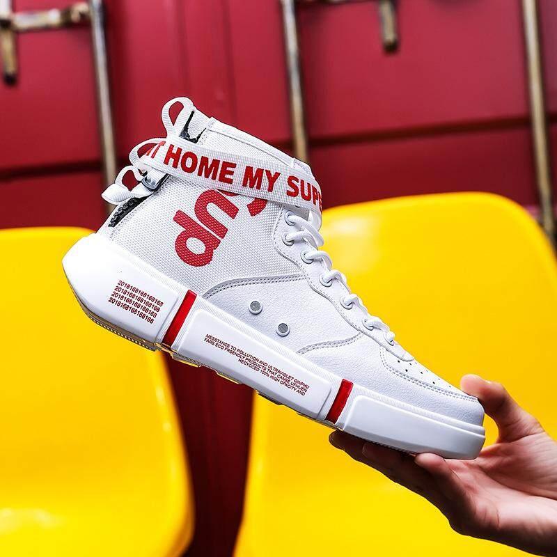 65d084a02 High-top Shoes Male Movement L Leisure Shoes Male Tide Hip Hop Trend Men s  Wf