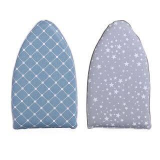 LIXIA Mini Cầm tay Người giữ Mitts Bàn ủi Tập giấy Tay áo Giá để bàn sắt thumbnail