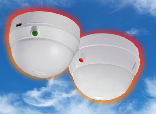 DEMCO Fire Alarm Detection and Preventions Rate-of-Rise & Fixed Temperature Heat Detector (Model: D-103 & D-103-3) 12-28V DC Double Sensitivity