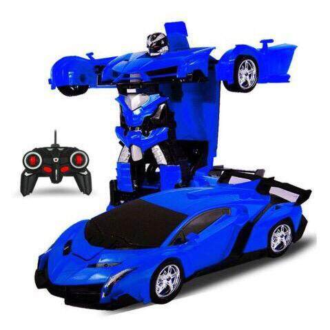 (NEW ARRIVAL) 2 In 1 Wireless Transformation Robot Control Car / 2 in 1  Rechargeable Climbing Wall Ceiling Remote Car Toys for boys