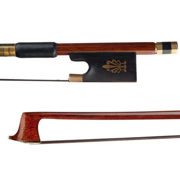 Vĩ Cầm Đàn Violin 4/4 Cung Gỗ Brazil Đen Mông Cổ Ếch Ebony