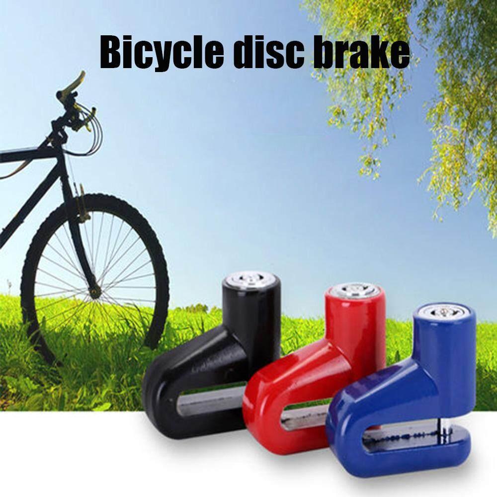 Anti-Theft Disc Brake Wheel Lock Security Alarm Motorcycle Scooter Bicycle 2 Key