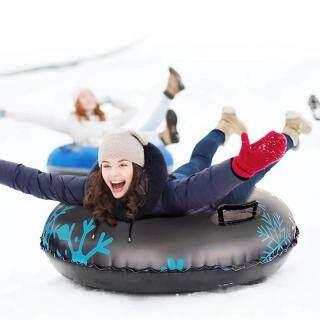 Gấu Mạnh Mẽ Siêu Chất Liệu Dày PVC Inflatable Trượt Tuyết Vòng Đi Ra Ngoài Để Chơi Lốp Xe Trượt Tuyết Mùa Đông Thổi Phồng Nhanh Quá Trình Hai Tay Cầm Mạnh Mẽ thumbnail