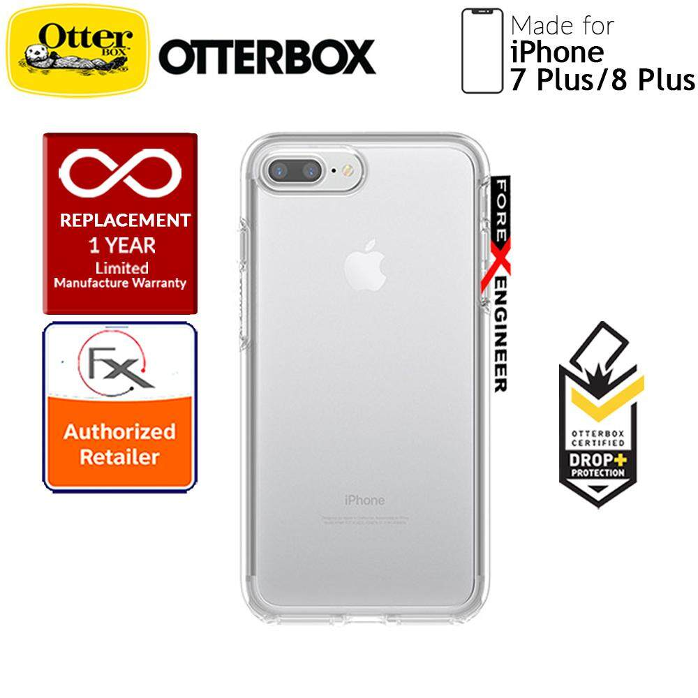 size 40 3081e 56b03 OtterBox Symmetry Clear Series for iPhone 8 Plus / 7 Plus - Black Crystal