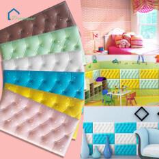 Giấy dán tường bọt biển 3D, chống nước cho phòng khách, phòng ngủ, phòng trẻ em, kích thước 30*60*1.8cm – INTL