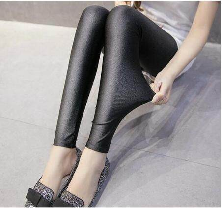 51ddb7c31974f8 BRIGHT BLACK PLAIN LEGGINGS READY STOCK HOT SELLING TOP QUALITY Slim Fit  Women s Casual Leggings Pants