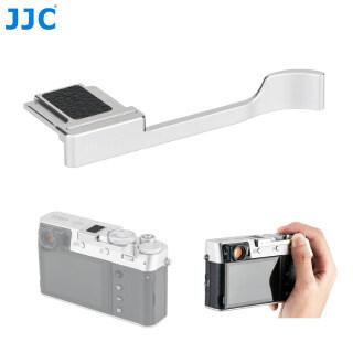 JJC deluxe kim loại thích hợp với tay cầm cho Fujifilm Fuji X100T X100V X100F XE3 X-E3 bảo vệ giày bảo vệ tay nóng phụ kiện máy ảnh thumbnail
