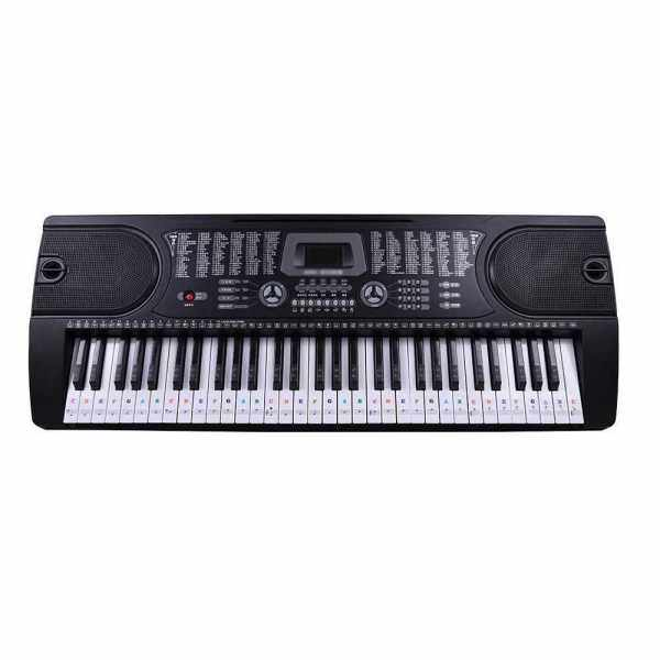 Piano Laminated Sticker Keyboard Set Educational Toys (Transparent) Malaysia