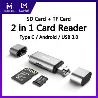 [Bảo Hành Địa Phương] MAIBENBEN Đầu Đọc Thẻ Nhớ USB Phụ Kiện Máy Tính Đầu Đọc Thẻ SD TF 2 Trong 1 USB 3.0 Type-C OTG Android Dành Cho Điện Thoại Máy Tính Xách Tay Huawei Redmi OPPO Vivo Miễn Phí Vận Chuyển CR01 thumbnail