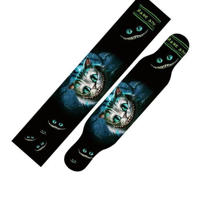 Mua Miễn phí Vận Chuyển 1 cái 24*122cm Ván Trượt Longboard Griptape Sàn Tàu Giấy Nhám Cầm Băng Dán Dài Ban Cát giấy Cầm Băng