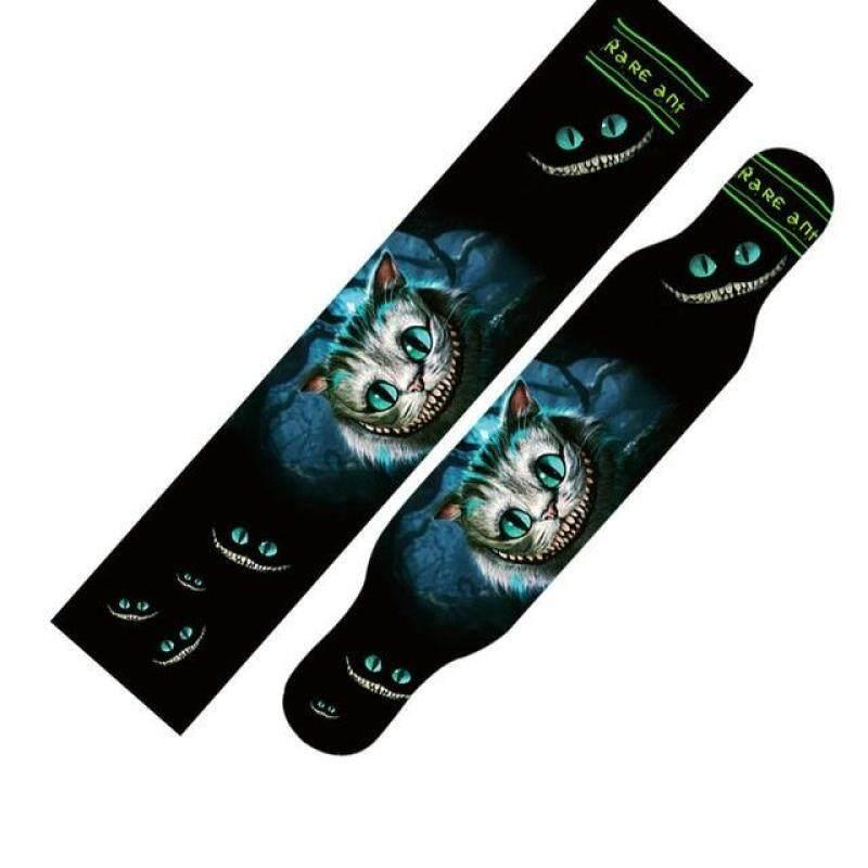 Miễn phí Vận Chuyển 1 cái 24*122cm Ván Trượt Longboard Griptape Sàn Tàu Giấy Nhám Cầm Băng Dán Dài Ban Cát giấy Cầm Băng