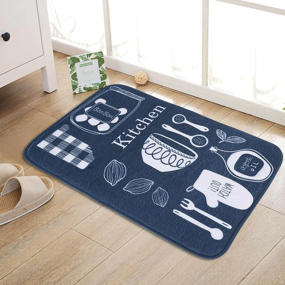 Andylike 60 x 40cm Cute Non Slip Doormat Bathroom Kitchen Floor Mat Soft Rug Carpet Home Decor