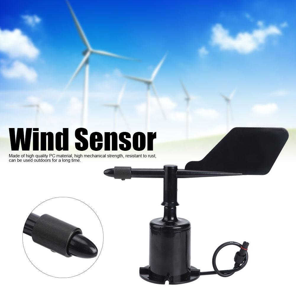 360 Độ Gió Phát Bộ Chuyển Tốc Độ Gió Anemometer Nhạc Cụ Cho Môi Trường Xung Quanh Thời Tiết